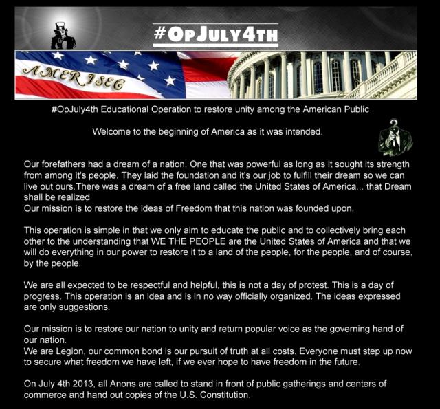 OPJuly4th    AmeriSec